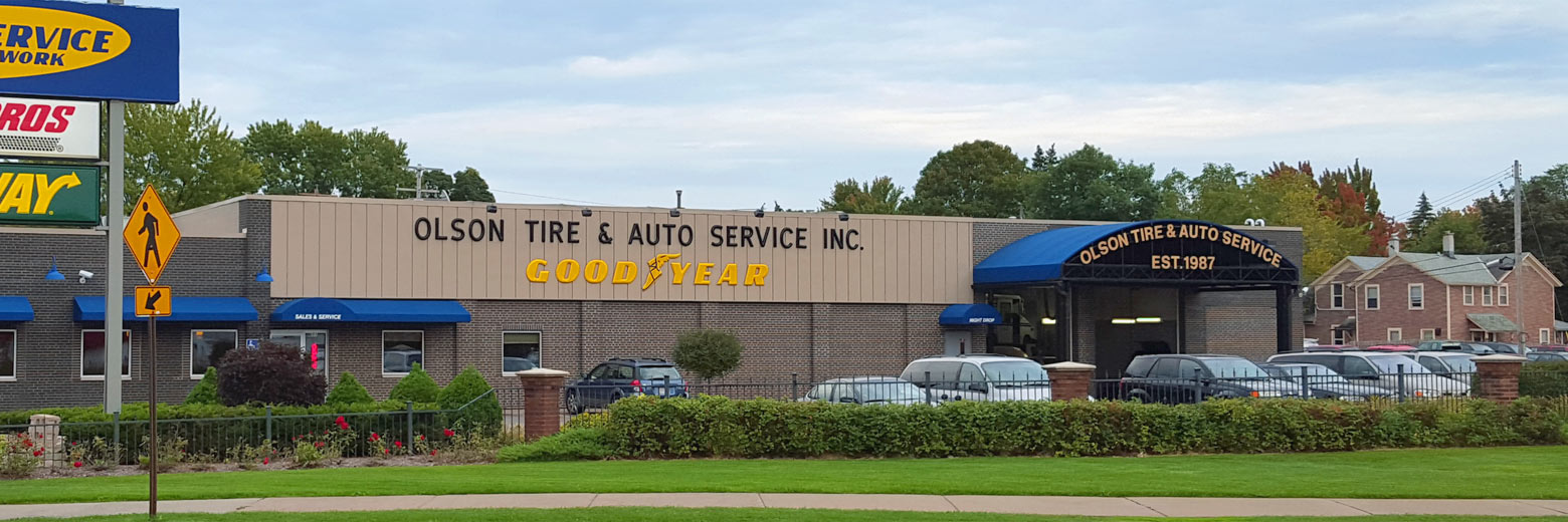 Olson Tire and Auto Service, The Happy Car Place