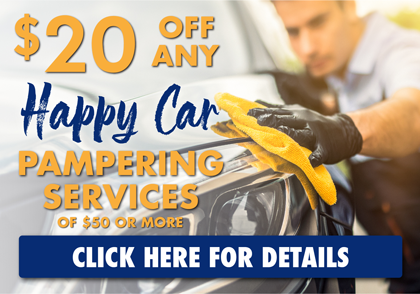 $20 Off Happy Car Pampering Service